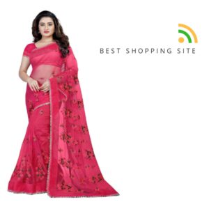 cotton saree blouse designs front and back